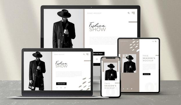 Responsiv design site