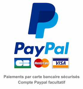 Paypal CB Mastercard Visa