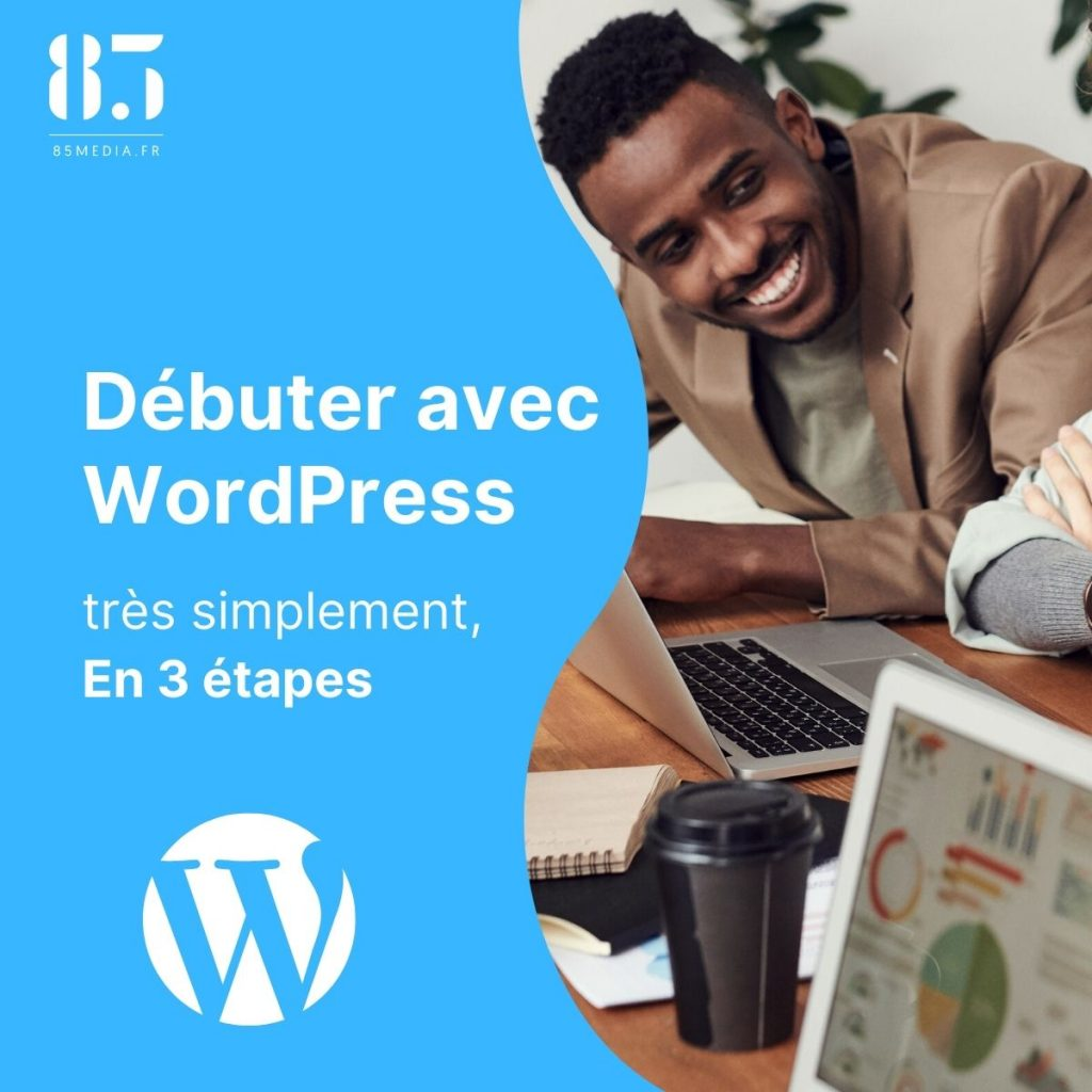 Débuter avec WordPress -premiere page
