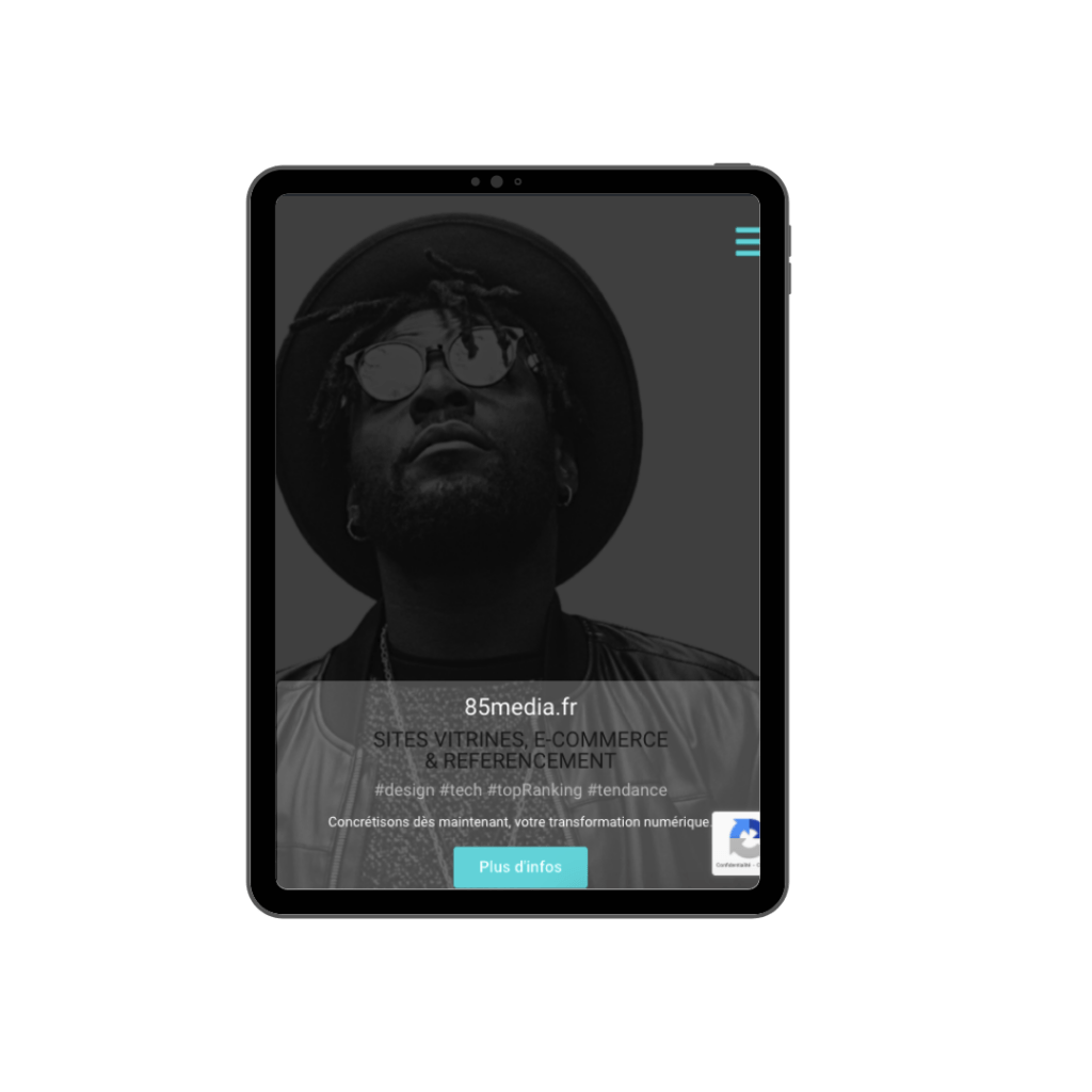 responsive tablette